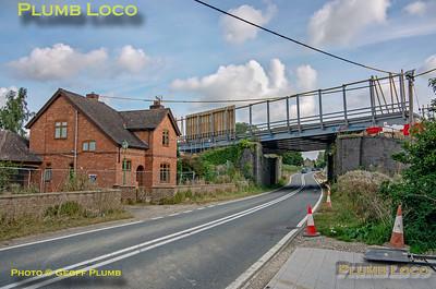 HS2, Finmere Station Bridge, 12th September 2021