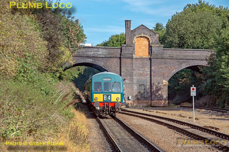 GCR Class 101, Leicester North, 22nd September 2021