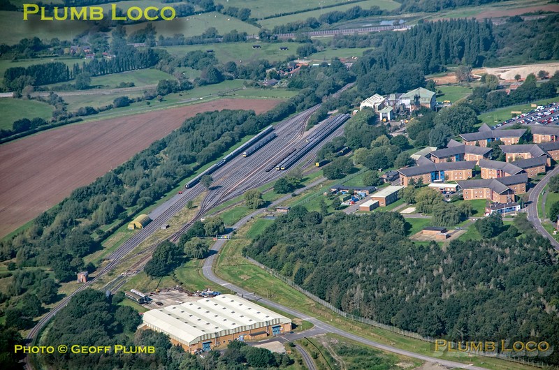 Aerial View, Graven Hill, 16th September 2021