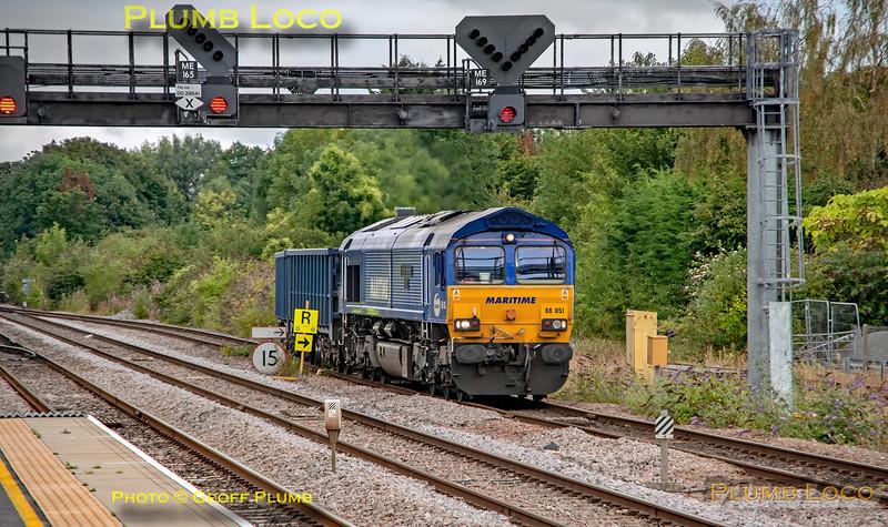 66051, 4V74, Princes Risborough, 31st August 2021