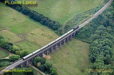 Aerial View, 35006, Stanway Viaduct, 16th September 2021