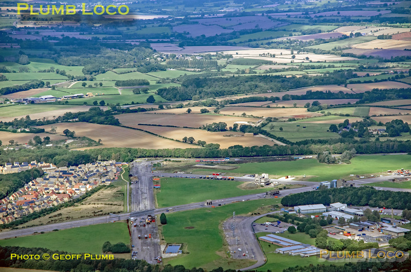 Aerial View, Fire College, Moreton-in-Marsh, 16th September 2021