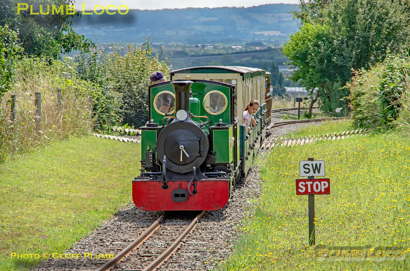 'St. Egwin', EVLR, Evesham Vale, 4th August 2021