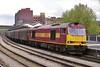 60012 6V75 09:29 Dee Marsh to Margam at Newport 10/5/2005.