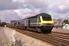 43010 10:30 Swansea to London Paddinton at Bridgend 07/02/2004.