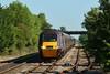 43366 & 43303 1V44 06:00 Leeds to Plymouth at Ashchurch 30/05/2009.