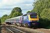 43070 & 43194 17:28 Swansea to London Paddington at Pont-sarn 09/07/2010.
