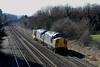 37087 & 37423 6M56 Berkeley to Crewe at Cheltenham Spa 08/03/2010.