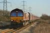 66238 4O11 Aberthaw to Onllwyn at Margam 29/02/2012.