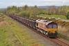 66044 6B05 Gwaun Cae Gurwen to Margam at Loughor 16/04/2012.