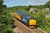 37405 3Z34 Swansea to Bristol Kingsland Road at Llangewydd Farm 29/06/13.
