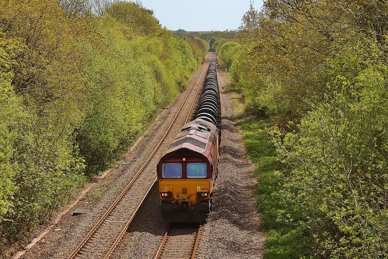 66125 6B41 Margam to Trostre at Pontlliw 18/05/13.