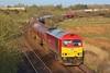 60017 6B13 Robeston to Westerleigh Murco tanks at Llandeilo Junction 29/04/13.