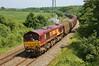 66206 6H26 Llanwern to Margam at Llangewydd Farm 14/07/13.