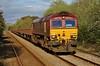 66059 6W30 Westbury to Morlais Junction via Llandeilo Junction at Bynea 04/05/13.