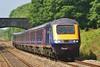 43152 & 43025 1L66 13:28 Swansea to London Paddington at Pyle 06/07/13.