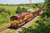 66068 6H26 Llanwern to Margam at Llangewydd Farm 29/6/2013
