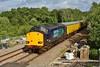 37605 T&T 37601 1Q13 Landore to Newport Alexandra Dock Junction at Gowerton 13/06/13.