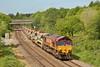 66162 6W06 Llandeilo Junction to Westbury near Pencoed 02/06/13.