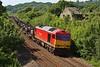 60054 6H27 Margam to Llanwern at Llangewydd Farm 14/07/13.