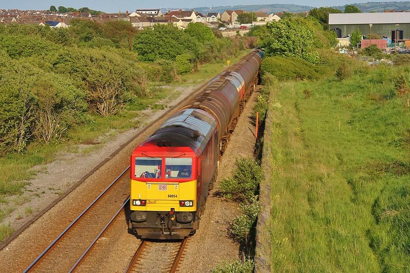 60054 6B07 Margam to Robeston at Llanelli 03/06/13.