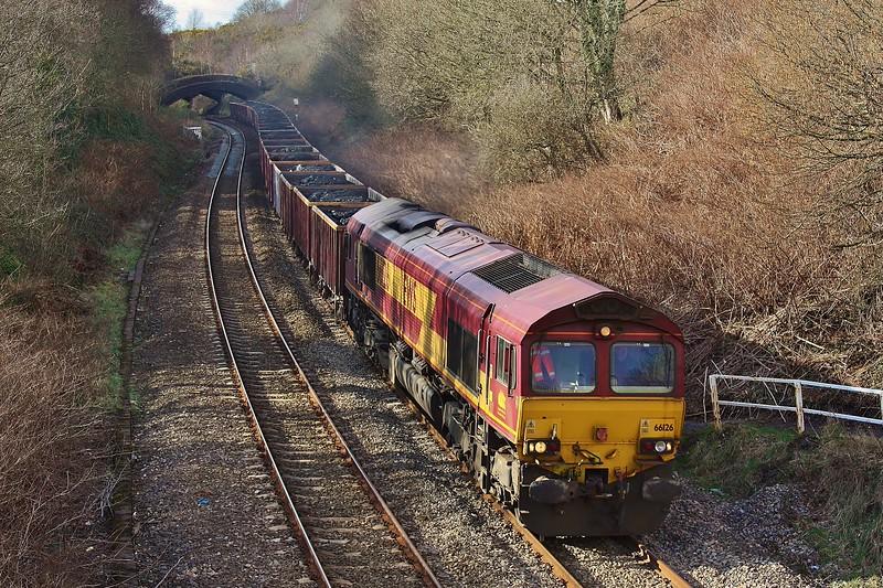 66126 6O70 Gwaun Cae Gurwen to Onllwyn coal at Llansamlet 19/03/2013.