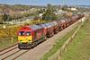 60059 6B21 Margam to Robeston at Loughor 05/05/13.