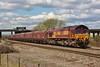 66058 6O31 Onllwyn to Llanwern at Kenfig 27/04/13.