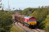 66152 6L42 Trostre to Tilbury departing Trostre 12/10/14.