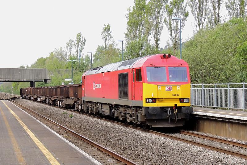 60039 6B16 Trostre to Margam at Baglan 03/05/14.