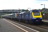 43160 & 43020 & 43021 & 43003 5Z86 Alstone Carriage Sidings to Landore at Pyle 3/8/14.