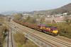 66047 6B16 Trostre to Margam at Briton Ferry 8/3/14.