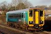 153353 2V36 05:16 Shrewsbury to Cardiff Central at Pyle 06/12/14.