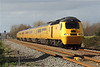 43062 & 43014 1Z20 05:55 Old Oak Common to Derby via Milford Haven at Loughor 07/02/14.