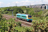 175010 1W64 13:02 Carmarthen to Manchester Piccadilly at Llandeilo Junction 21/5/14.