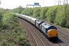 37612 & 37611 1Z49 07:07 Eastleigh to Llandrindod Wells at Briton Ferry 21/4/14.