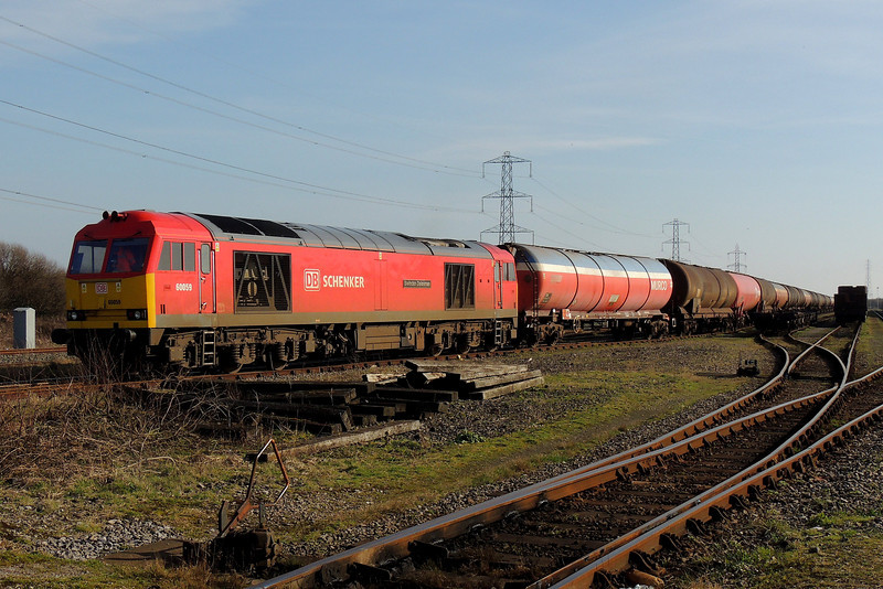 60059 at Margam Yard with 6B33 from Theale 8/3/14.