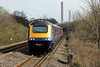43147+43156 5B10 13:05 Bristol Temple Meads to Landore T.M.D at Baglan 22/3/14.