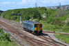 150278 2V38 09:00 Shrewsbury to Cardiff Central at Llandeilo Junction 21/5/14.