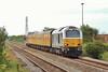 67029 T&T 67027 1Z20 Old Oak to Derby via Swansea at Margam 13/6/14.