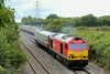 60039 1Z60 09:19 Bristol Temple Meads to Baglan Bay departs Stormy loop 24/8/14.