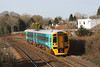 158836 2E03 06:59 Pembroke Dock to Newport near Pencoed 1/3/14.