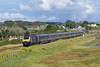 43145 & 43163 1B40 13:37 London Paddington to Carmarthen at Loughor 20/7/14.