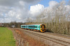 158830 2G58 11:15 Maesteg to Cheltenham Spa at St Georges 1/3/14.