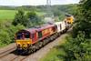 66193 6W13 Hinksey to Aberthaw at Llangewydd 05/07/14.