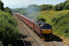 47854 Top and Tails 47786 on 1Z56 05:40 Grantham to Cardiff Central via Llandrindod Wells at Stormy 16/8/14.
