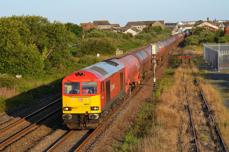 60011 6B13 Robeston to Westerleigh at Llanelli 07/08/14.