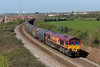 66069 6O32 Margam to Dollands Moor at Rhoose 13/4/14.