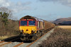 66011 6B01 Margam to Trostre at Llangennech 16/2/14.