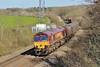 66174 6B04 Llanwern to Margam at Llangewydd Farm 18/4/15.